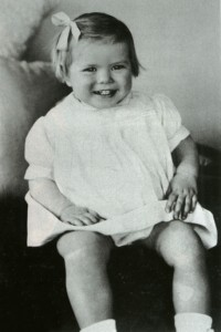 Grace as a baby