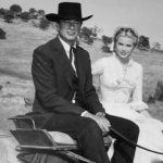 Grace on the set of High Noon
