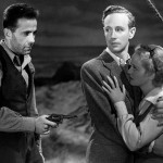 Bogie Leslie Howard and Bette Davis in The Petrified Forrest