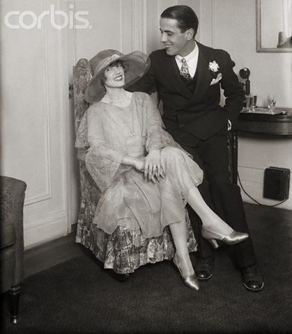 Bogie and his first wife Helen Menken