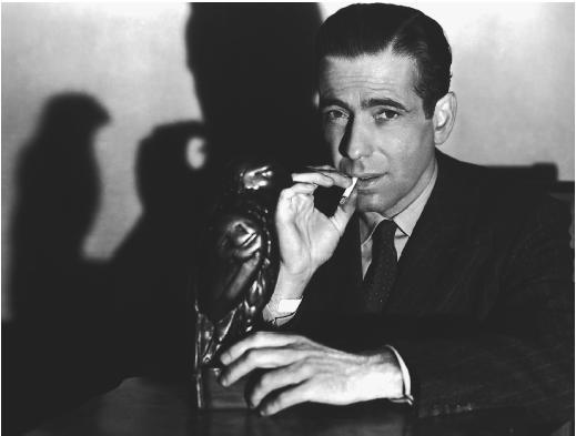 Bogie in a publicity shot for The Maltese Falcon