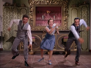 O Conner Reynolds and Kelly in Singin in the Rain