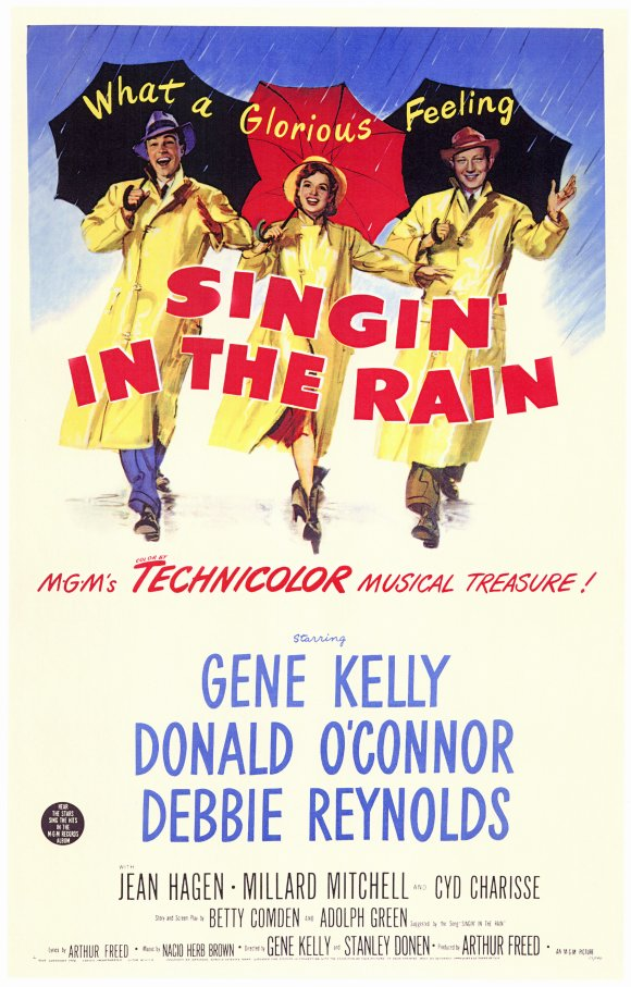 Singin in the rain movie poster