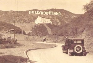 Original Hollywood sign