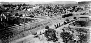 Santa Monica Boulevard in 1890