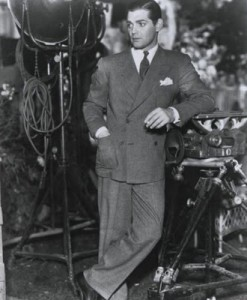 A young Clark Gable