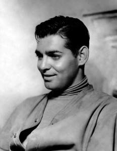 Clark Gable during his early Hollywood days