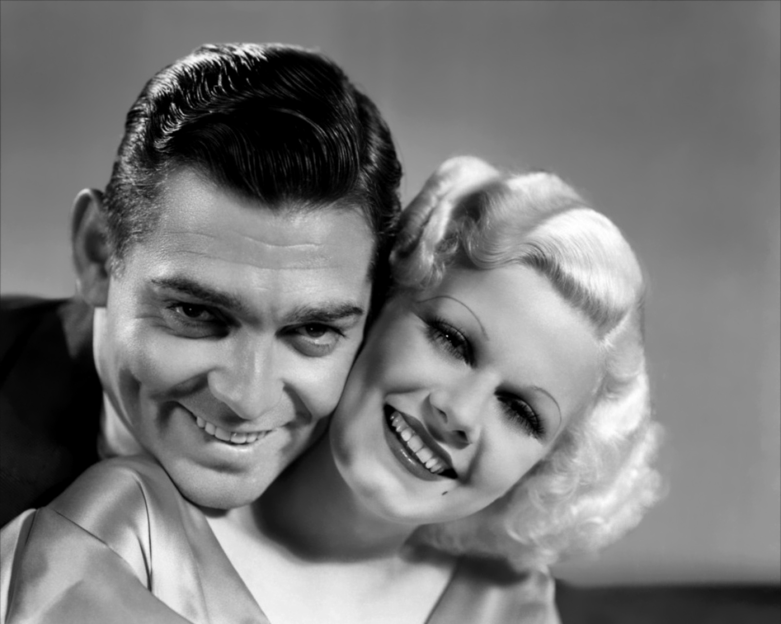 Clark and Jean Harlow