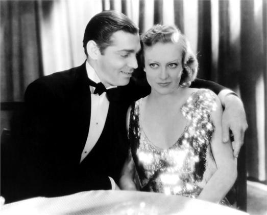 Clark and Joan Crawford in Dance Fools Dance