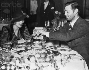 Clark and Loretta Young ot to dinner