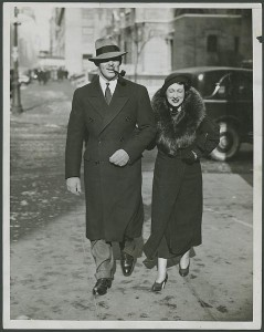 Clark and his second wife Ria Langham