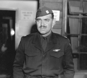 Clark during his army days in 1944