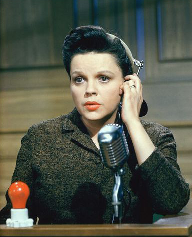 Judy Garland in Judgement at Nuremberg