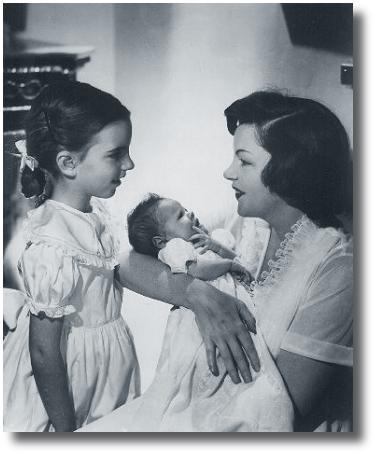 Judy Liza and newborn Lorna