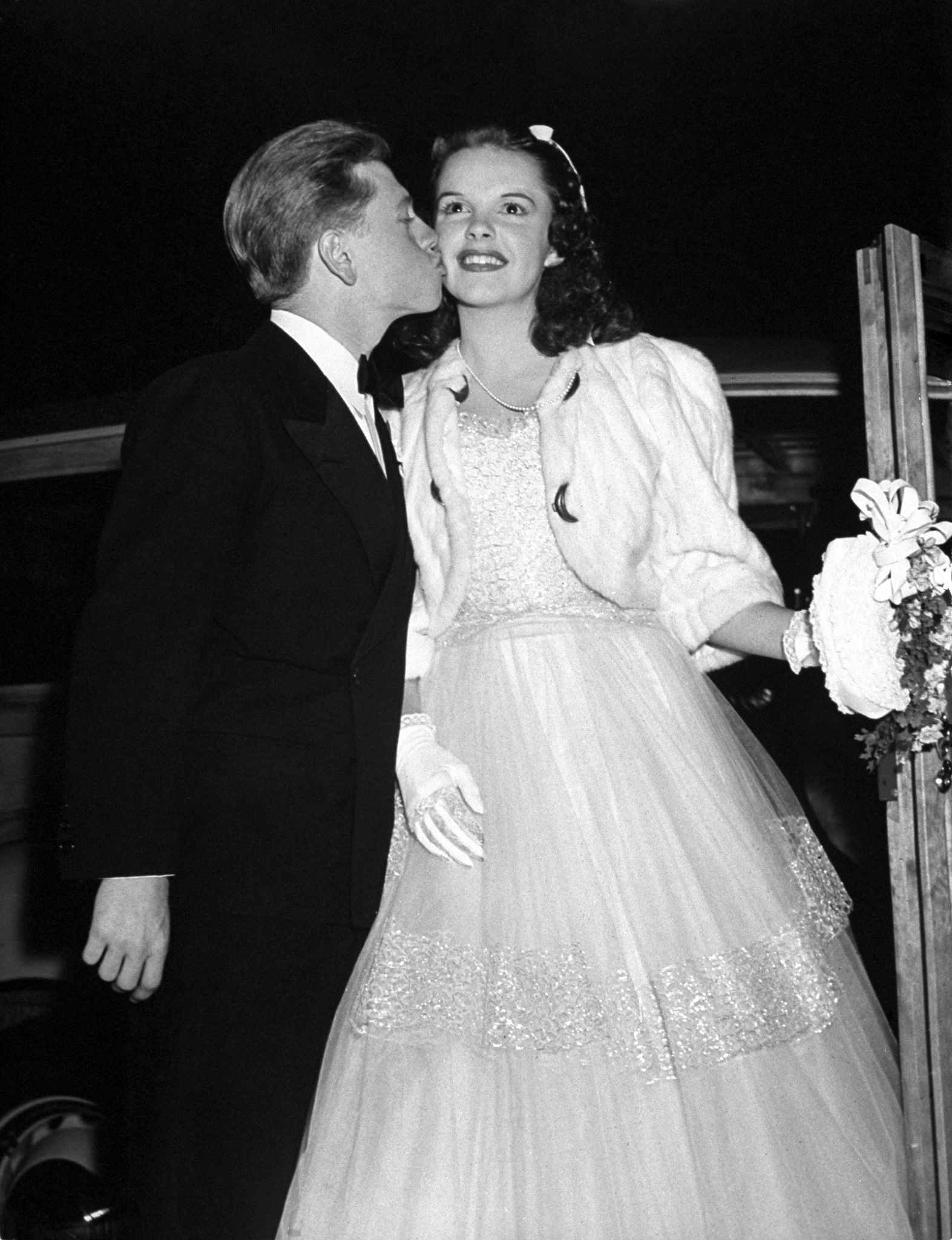 Judy and Mickey Rooney