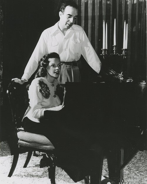 Judy and Vincente Minnelli