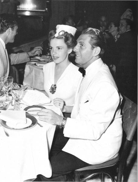 Judy and first husband David Rose