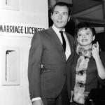 Judy and fourth husband Mark Herron