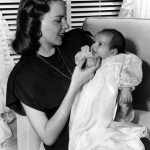 Judy and her first daughter Liza