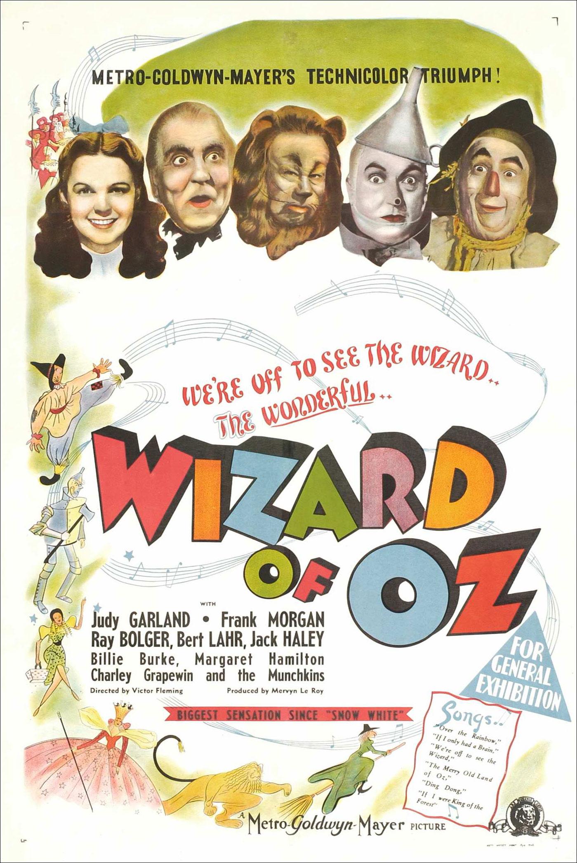 Wizard of Oz movieposter