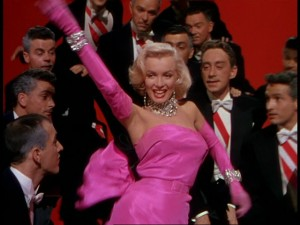 Gentlemen Prefer Blondes dance sequence