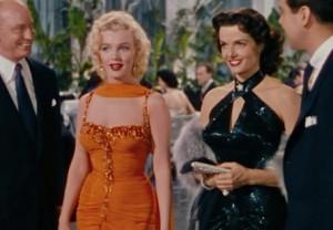 Gentlemen Prefer Blondes scene