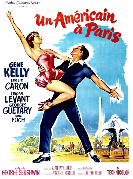 An american in Paris poster