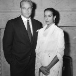 Marlon Brando and his first wife Anna Kashfi
