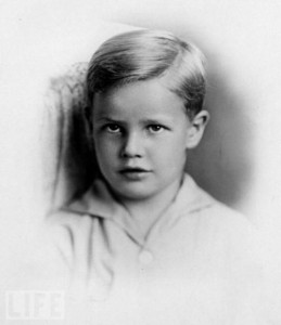 Marlon Brando as a child