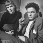 Marlon and his sister Jocelyn in 1948