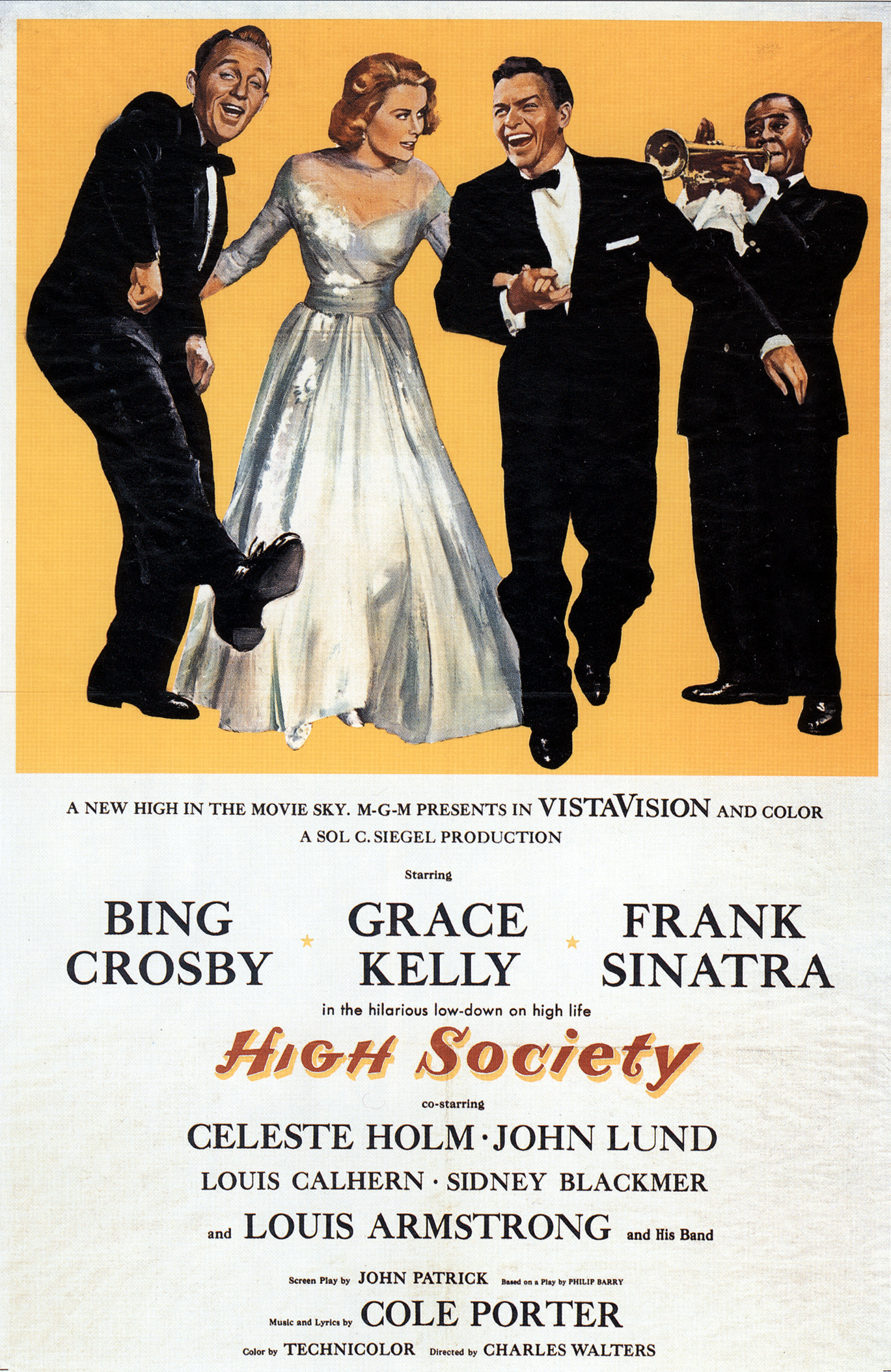 High Society filmposter