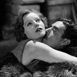 Greta and John Gilbert in The Flesh and the Devil