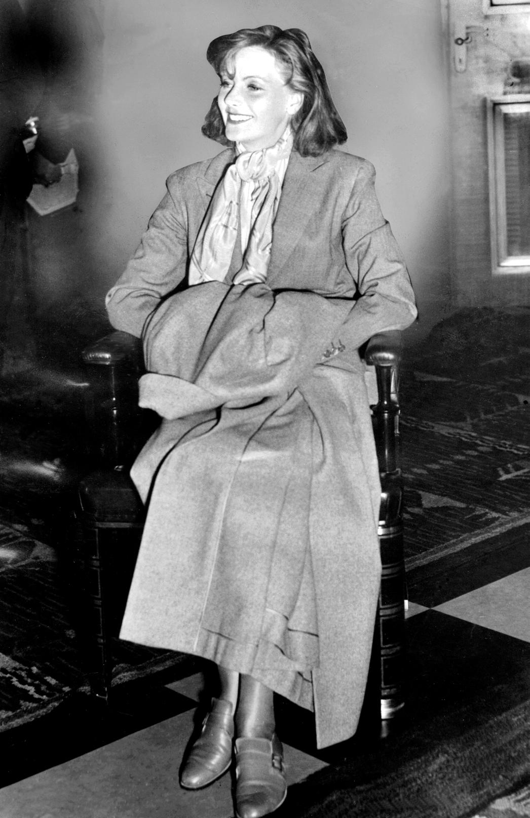 garbo in 1935