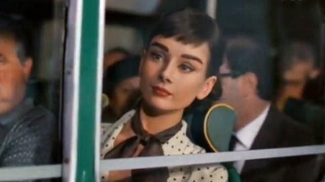 Audrey hepburn commercial