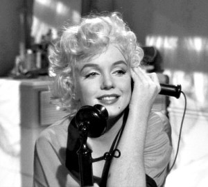 Marilyn in Some Like It Hot