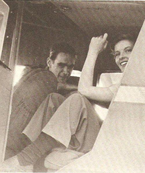 Katharine Hepburn and Howard Hughes