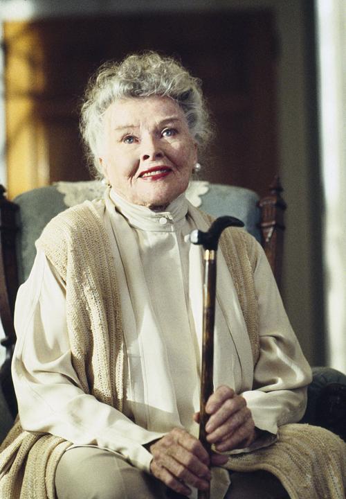 Katharine in her last film One Last Christmas