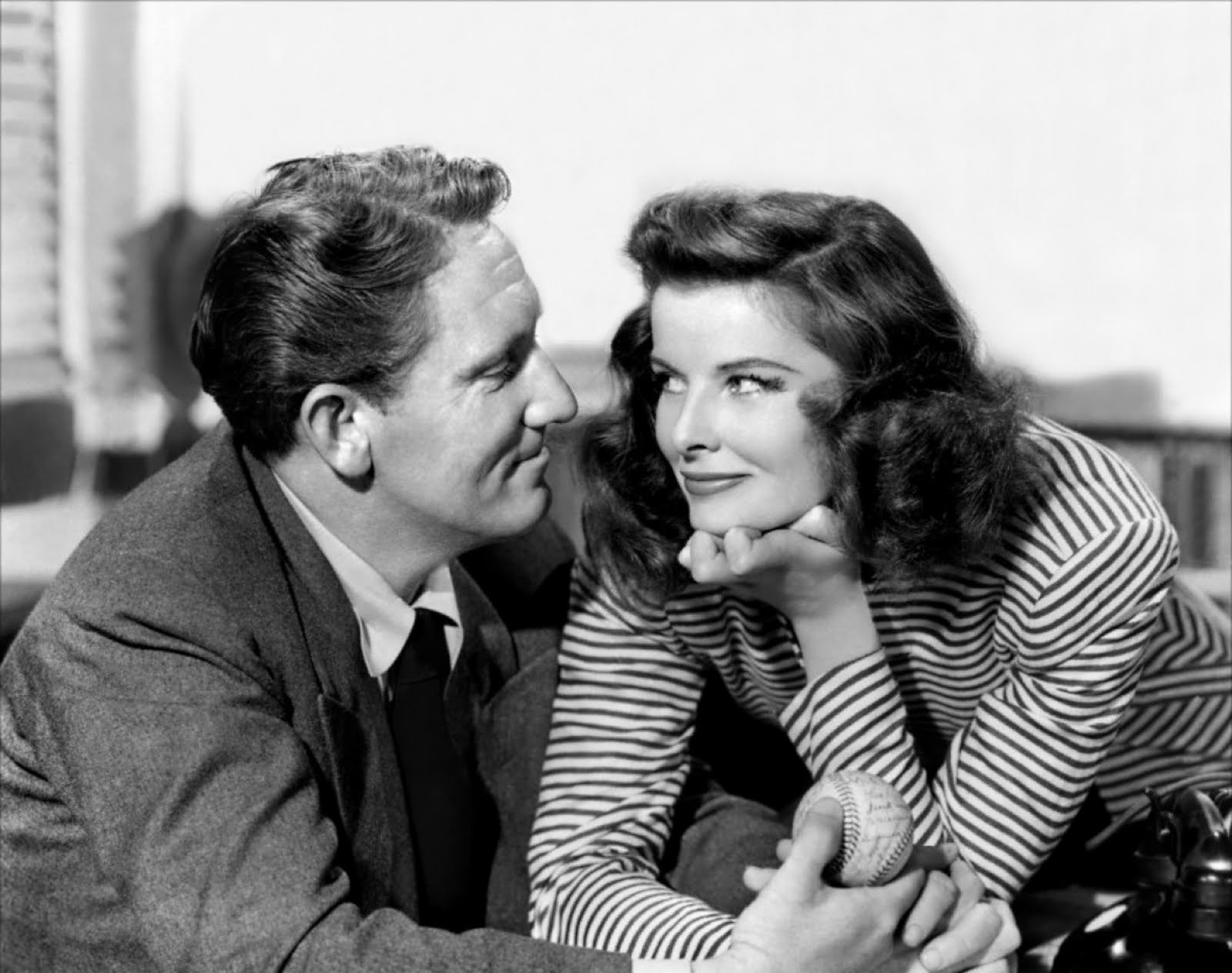 Katherine Hepburn and Spencer Tracy in Woman of the Year