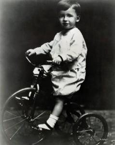 James Stewart as a child