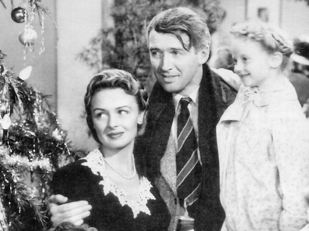 James Stewart in Its A Wonderful Life