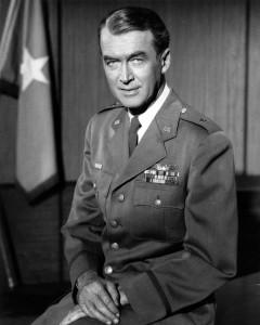 James Stewart in military uniform