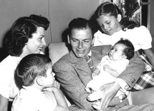 Frank Nancy and their three children