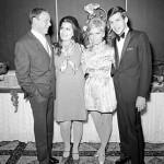 Frank Sinatra and his three children