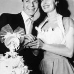 Frank and Ava Gardners wedding