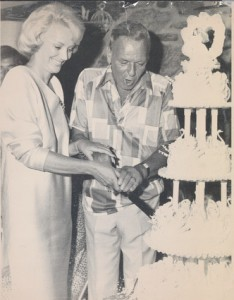 Frank and Brabra Marx wedding