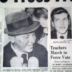 Newspaper after kidnapping of Frank Sinatra Jr.