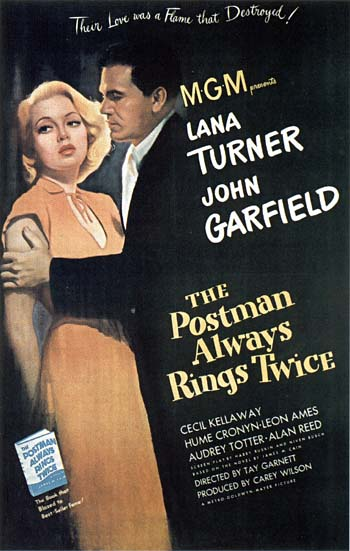 Poster Postman Always Rings Twice