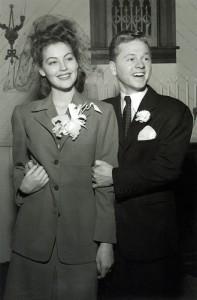 Ava and Mickey Rooneys wedding