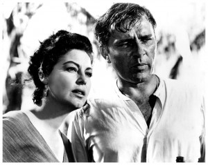 Ava and Richard Burton in The Night of the Iguana