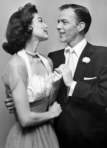 Ava and third husband Frank Sinatra